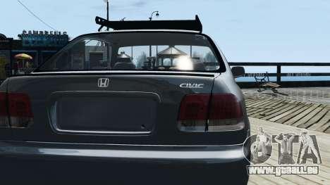 Honda Civic 1.6i ES pour GTA 4 est un droit