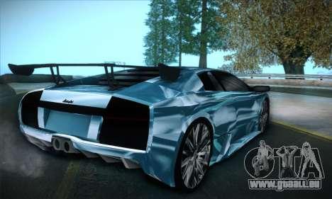 Lamborghini Murcielago GT Coloured für GTA San Andreas linke Ansicht
