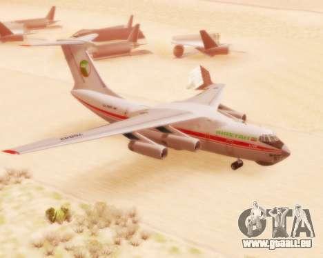 Ilyushin Il-76td pour GTA San Andreas
