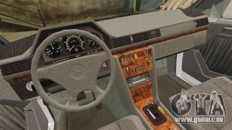 Mercedes-Benz C220 W202 v2.0 pour GTA 4 Vue arrière