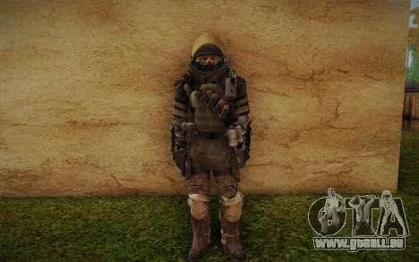 COD MW3 Heavy Commando für GTA San Andreas her Screenshot