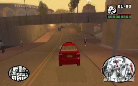 Speedometr da Rockstar pour GTA San Andreas quatrième écran
