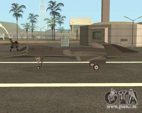 FA-37 Talon für GTA San Andreas linke Ansicht