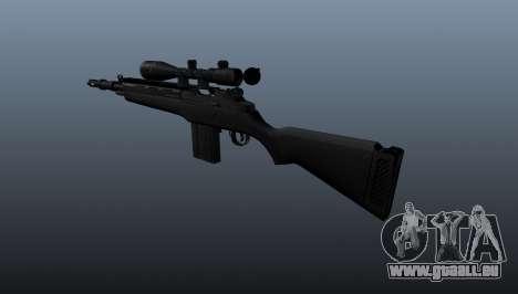 Das halbautomatische Gewehr M14 für GTA 4 Sekunden Bildschirm