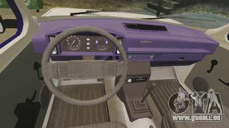 Zastava Yugo 128 pour GTA 4 est un côté