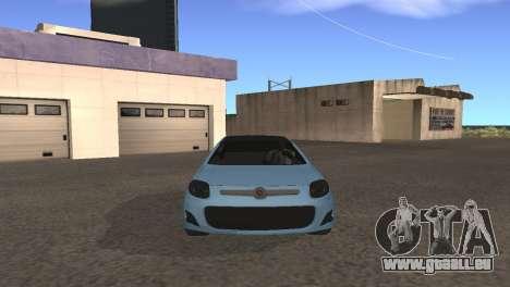 Fiat Palio 2014 pour GTA San Andreas laissé vue