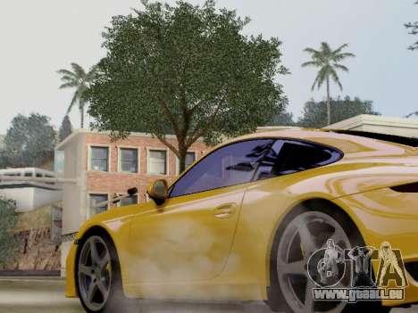 RUF RGT-8 pour GTA San Andreas sur la vue arrière gauche
