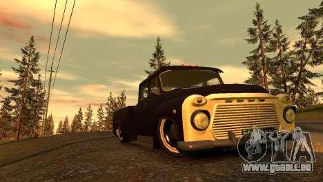 GAZ 53 pour GTA 4 vue de dessus