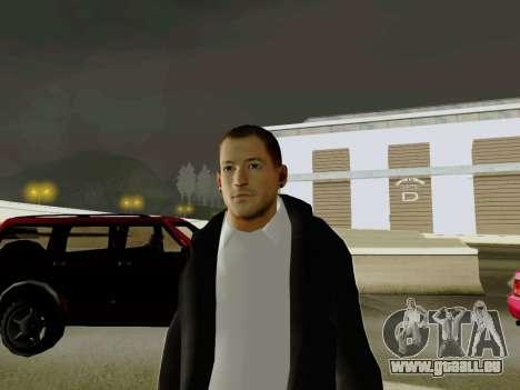 Chester Bennington pour GTA San Andreas deuxième écran