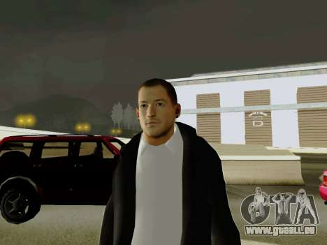 Chester Bennington für GTA San Andreas zweiten Screenshot