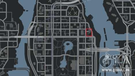 Poste de police, raton laveur pour GTA 4 sixième écran
