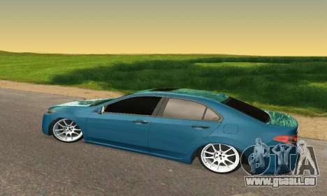 Honda Accord Tuning pour GTA San Andreas vue arrière