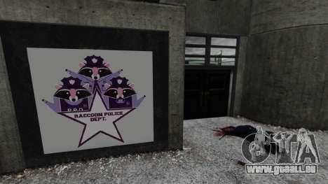 Poste de police, raton laveur pour GTA 4 secondes d'écran