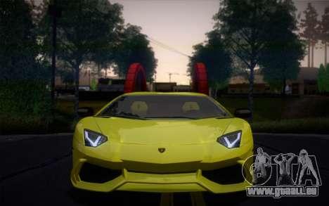 Lamborghini Aventador LP720-4 50th Anniversario für GTA San Andreas