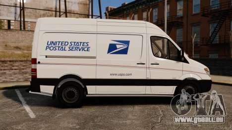 Mercedes-Benz Sprinter 2500 Delivery Van 2011 für GTA 4 linke Ansicht