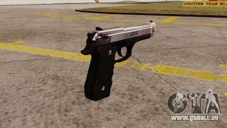 Ladewagen Pistole Beretta M92 für GTA 4 Sekunden Bildschirm