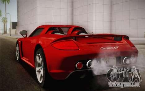 Porsche Carrera GT für GTA San Andreas linke Ansicht