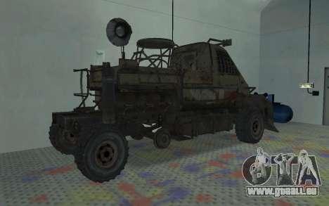 Gazelle aus der Metro 2033 für GTA San Andreas rechten Ansicht