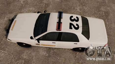 GTA V Police Vapid Cruiser Sheriff pour GTA 4 est un droit