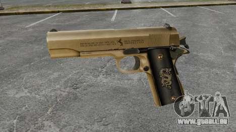Colt M1911 pistolet v2 pour GTA 4 troisième écran