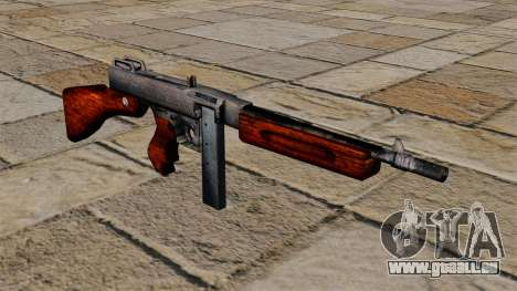 Thompson M1a1 Maschinenpistole für GTA 4