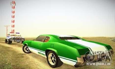 GTA IV Sabre Turbo für GTA San Andreas rechten Ansicht