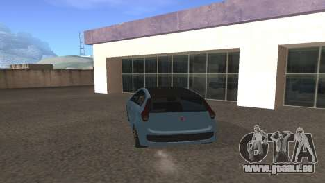 Fiat Palio 2014 pour GTA San Andreas vue de droite