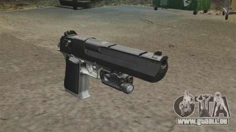 Desert Eagle Pistole MW2 für GTA 4