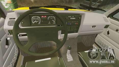Volkswagen Caddy pour GTA 4 est une vue de l'intérieur