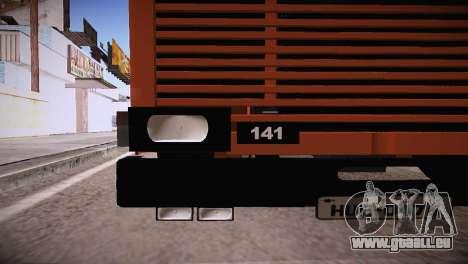 Scania LK 141 6x2 pour GTA San Andreas sur la vue arrière gauche