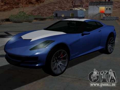 Coquette de GTA 5 pour GTA San Andreas
