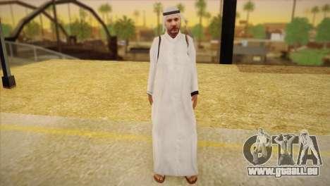 Cheikh arabe pour GTA San Andreas