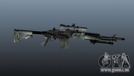 Fusil de sniper M21 Mk14 v1 pour GTA 4 troisième écran