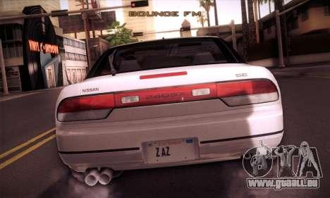 Nissan 240SX 1991 Tunnable pour GTA San Andreas vue de côté