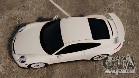 Porsche 911 GT3 (991) 2013 pour GTA 4 est un droit