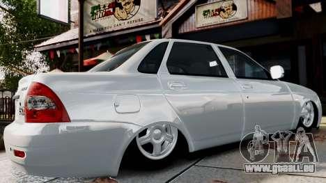 VAZ Lada 2170 Priora für GTA 4 Rückansicht