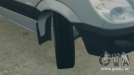 Mercedes-Benz Sprinter 2500 2011 v1.4 pour GTA 4 est un côté