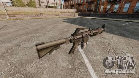 Assault rifle-Colt AR-15 pour GTA 4 secondes d'écran