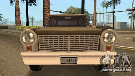 Perennial HD from GTA 3 pour GTA San Andreas vue de droite