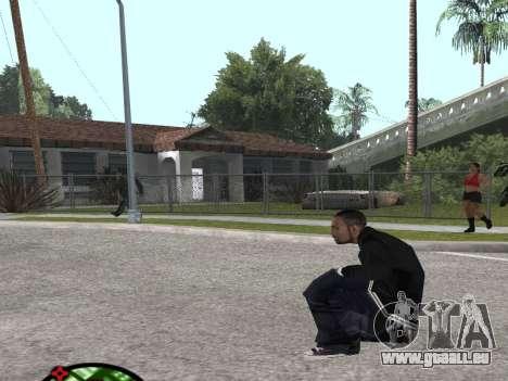 Nouveau Bmybar pour GTA San Andreas troisième écran