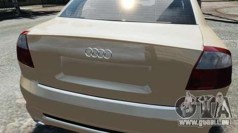 Audi S4 2004 pour GTA 4 est un droit