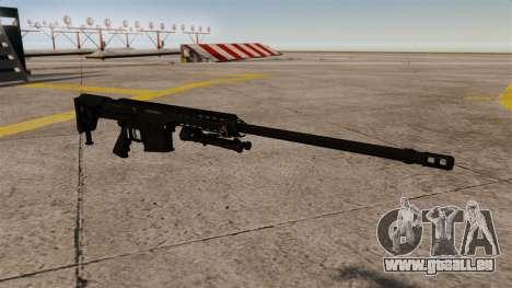 Le fusil Barrett M98B pour GTA 4