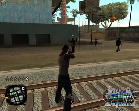 C-HUD by Menson pour GTA San Andreas deuxième écran