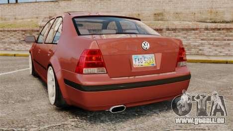 Volkswagen Bora VR6 2003 für GTA 4 hinten links Ansicht