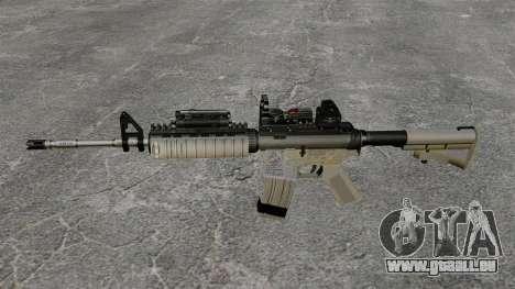 Automatische M4 rot Dop-v1 für GTA 4 dritte Screenshot