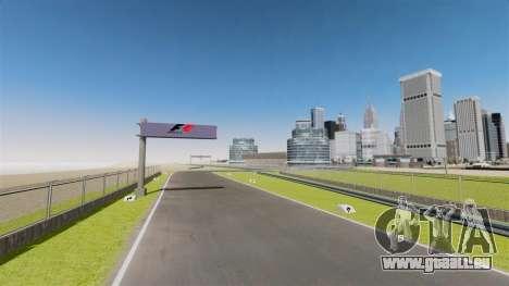 Rennstrecke Spa-Francorchamps Mini für GTA 4 achten Screenshot