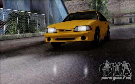 Road Reflections Fix 1.0 pour GTA San Andreas deuxième écran