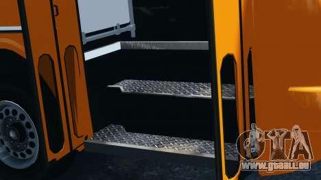 Ikarus 260 für GTA 4 Rückansicht