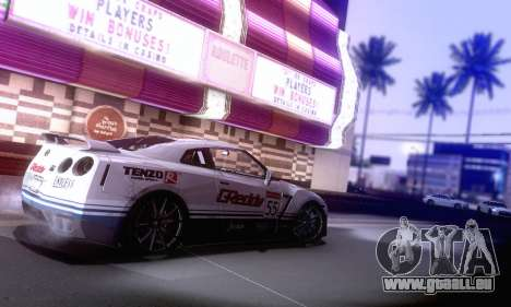 ENBSeries SA_PGAD par ArturIce v1.0 pour GTA San Andreas quatrième écran