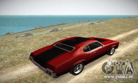 GTA IV Sabre Turbo für GTA San Andreas Seitenansicht